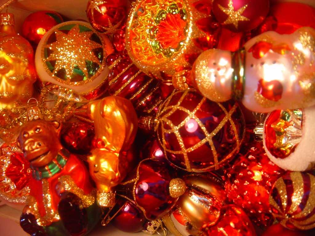 Gold Christmas Tree Decorating Ideas